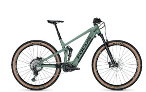 rower elektryczny górski Focus THORN2 6.9 mineralgreen