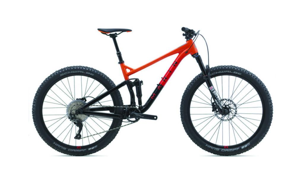 Rower górski MTB Full Marin Hawk Hill 3 orange