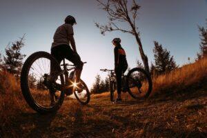 rowery elektryczne z wypożyczalni Trip2Bike w Szczyrku