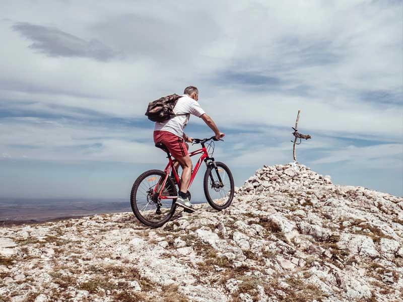 trasa rowerowa Skrzyczne - Malinowska Skała - Przełęcz Salmopolska