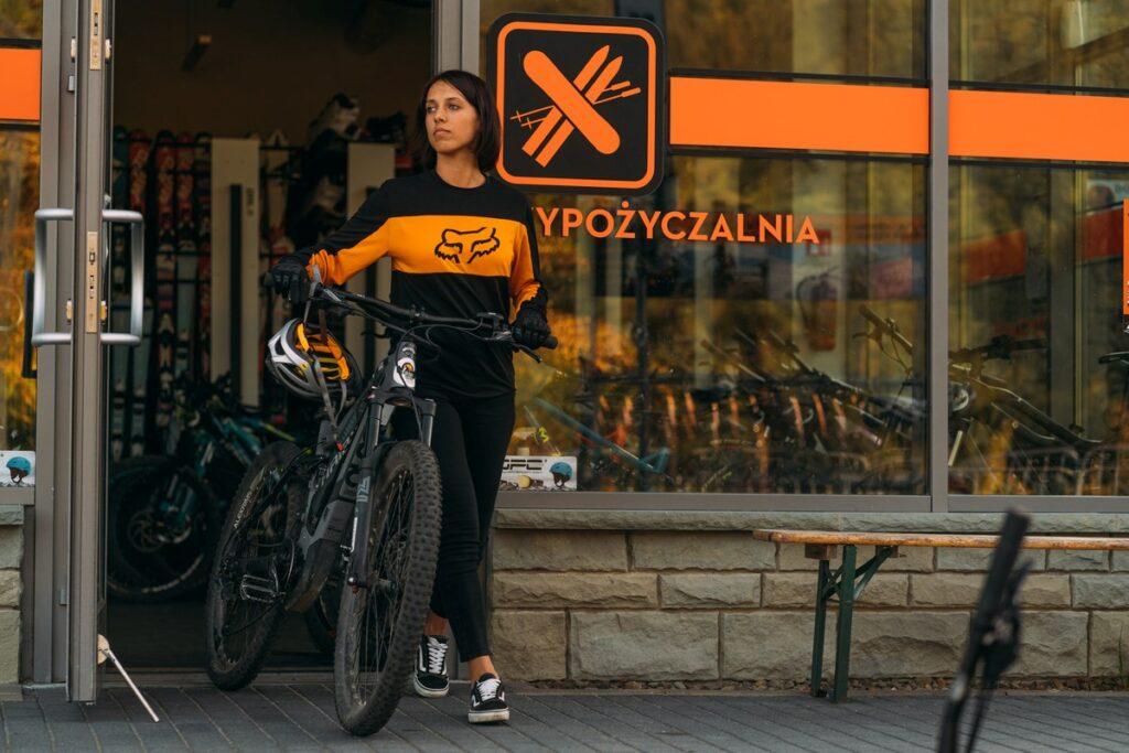 wypożyczalnia rowerów Szczyrk Trip2Bike siedziba wypożyczalni